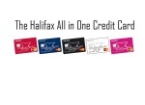 Halifax Credit Card; All in One with 5 colours to choose from