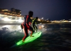Glow in the Dark Surfing Down Under