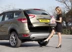 Kick-Activated Automatic Boot on the New Ford Kuga