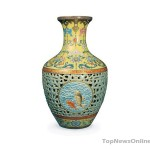 Chinese Vase from Qianlong-dynasty fetches £43 Million in London Auction