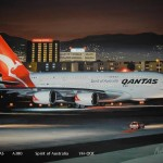 Prestige Airplane, Airbus A380 Grounded by Qantas Airways