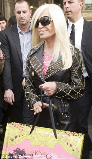 Donatella Versace's collection for H&M