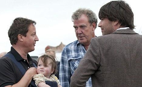 Jeremy Clarkson with David Cameron
