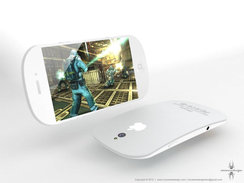 iPhone 5 Gaming Concept