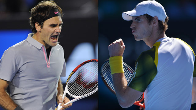 Murray v Federer Live Semi Final Tennis
