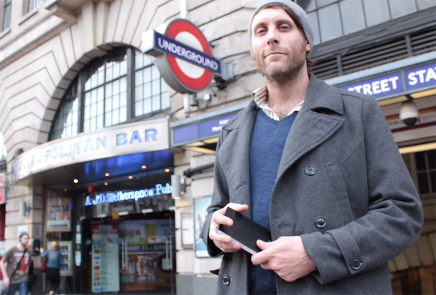 Orchestra of Strangers, London Underground Concert