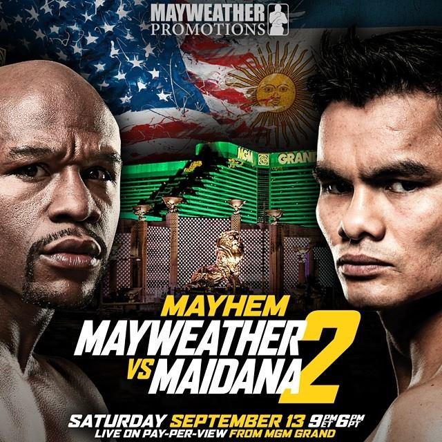 Floyd Mayweather v Marcos Maidana