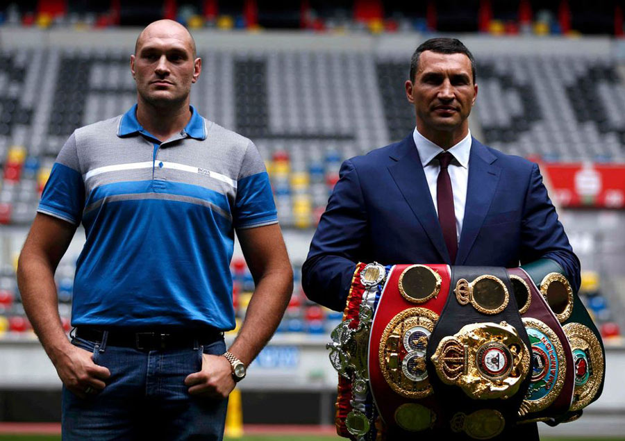 Tyson Fury Fight Live, Fight Time With Klitschko